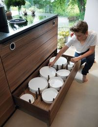 Kitchen drawer organization is a must when trying to make the most out of your kitchen storage. Here are 18 inspirational pictures to get you started.