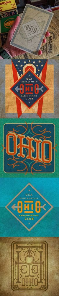 Ohio Badge & Type Hunting