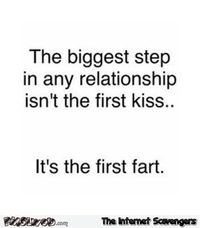 The biggest step of a relationship funny quote #funny #humor #lol #meme #PMSLweb