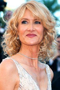 Laura Dern has the perfect cut for curly mid-length styles.