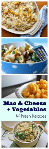 Beat the box! Nine fresh mac and cheese recipes packed with delicious vegetables.
