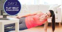 If you're ready for a challenge that will blast away belly fat, our 21-Day Flat-Belly Challenge is for you. Each day, we have an effective workout paired with