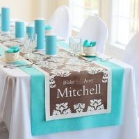 Cathy's Concepts 1041D Damask Decorative Table Runner #wedding