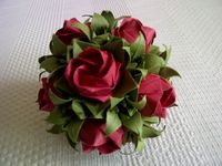 Rose Ball folded by Judith Laing by emtysoe, via Flickr