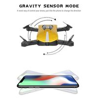 GW018 Foldable Selfie Pocket Mini Drone