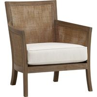 A soft grey wash gives our handwoven rattan lounge chair a gently weathered, natural look that reflects its eco-friendly pedigree. Frame is crafted of solid teak certified by the Forest Stewardship Council (FSC), a nonprofit organization that enco...