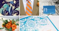 Try one of these fresh wedding color combinations for a style all your own.