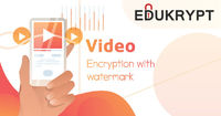 Video Encryption with Watermark Technology has been developed for protecting the multimedia content which may be available in any mode like Education tutorials, video lectures, etc. at the lowest price. Know More Call: +91-885-128-6001 or Visit https://ww...