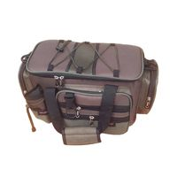 Multifunction Canvas Fishing Bag Large Capacity Lure Fishing Tackle Pack Outdoor Shoulder Bags Fish Finder Drop Shipping $68.99