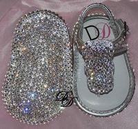 Baby Bling Shoes : Rhinestone Baby Shoes : Crystal Baby Shoes. Ummm love!