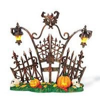"Department 56: Gift Giving - ""Gothic Gate"" - Halloween"