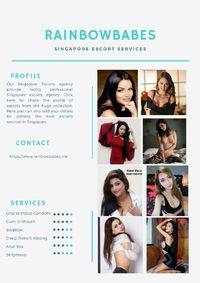 Our Singapore Escorts agency provide highly professional Singapore escorts agency. Click here for check the profile of escorts from the huge collection. Here you can also add your details for getting the best escorts services in Singapore.