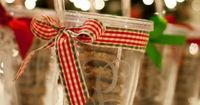"""DIY Monogrammed Tumblers �€"""" A crafty (and cheap) gift! 