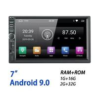 RM-TQ0011 7 Inch 2 Din for Android 9.0 Car Stereo Radio 4 Core 1+16G 2+32G Auto MP5 Player bluetooth Hands-free Touch Screen Wifi AM FM RDS
