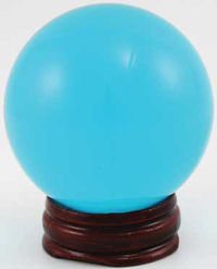 On Sale Now! Aqua Crystal Ball 50mm, now only $12.76!