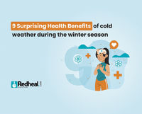 Most people are aware of the negative effects of the winter season, but very few realise the surprising benefits of it. Check our latest article to find out. https://www.redheal.com/blog/lifestyle/9-surprising-health-benefits-of-cold-weather-during-the-w...