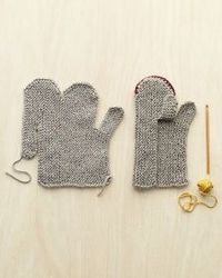 A pair of hand-knit mittens should be the universal symbol for wintertime happiness and comfort. (It's also an instant heirloom: How many an orphaned mitten is