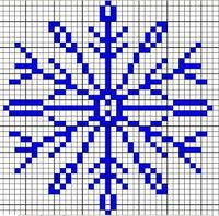 Snowflake Knitting Chart | Free Knitting Patterns