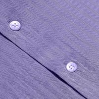 Lavender Herringbone Cotton Shirt �'�1999.00