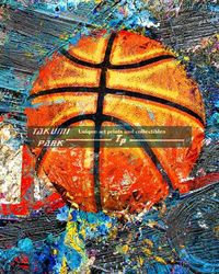 A colorful and innovative basketball photo print. A nice basketball art work for the home by takumipark. #basketballart #basketball #sports #photo #homedecor