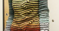 revi-and-noa's version of Stripes With a Twist pattern by atelier alfa, purchase on Ravelry