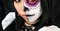 Sugar Skull by ~iChuy on deviantART