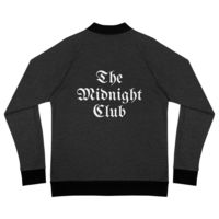 The Midnight Club Unisex Black Bomber Jacket $74.95