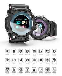 Bakeey MK23 Heart Rate Monitor 5ATM Waterproof SMS Reminder Remote Camera Alarm Smart Watch