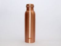 Pinnaclz's 100% Pure Copper Water Bottle is a superior quality copper bottle, which helps to maintain good health. Benefits Like weight loss & many other health benefits.