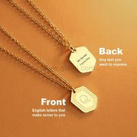 Name Initial Pendant Necklace for Her https://www.gullei.com/name-initial-pendant-necklace-for-her.html