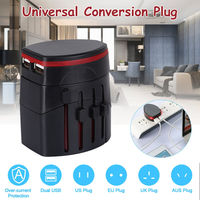 Global Universal Conversion Plug Adapter Multi-function Conversion Socket USB Charger