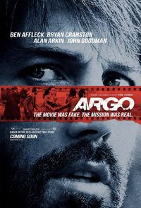 Argo -- a new film on my list. Fascinating look at a tumultuous time. See it on the big screen while you still can.