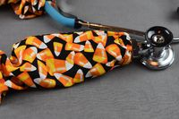 Stethoscope Cover - Halloween Candy Corn $7.99
