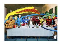 Marvel: Stan Lee's Super Supper - Art Print/Poster Wall Art £16.00