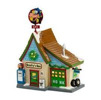 "Department 56: Products - ""Goofy's Gas Station"" - View Lighted Buildings"