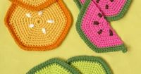 Whit's Knits: Fruity Trivets and Pot Holders - Fruity Trivets + Pot Holders - the purl bee