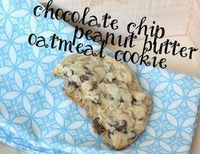 Chocolate Chip Peanut Butter Oatmeal Cookies : best cookie ever! barefootbeadshawaii