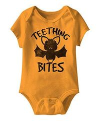 Look at this #zulilyfind! Mandarin 'Teething Bites' Bodysuit - Infant #zulilyfinds