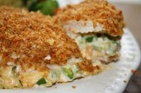 Jalepeno Popper Chicken! This is one of my favorite recipes! Sooooo good!!