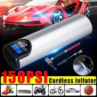 Car Tire Air Pump Portable Bicycle Compressor Wireless Hand-held LED 2000mAh Battery