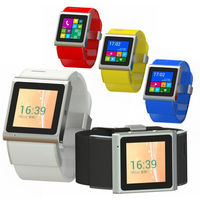 "HOPU EC308 Android 4.0 MTK6517 Dual-Core Smart Watch Phone w/ 1.54"" Screen 2.0M Camera Wifi GPS (512M + 4GB)"
