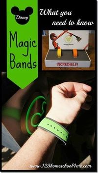 Disney MagicBand - what you need to know about Disney magic bands -- the newest technology in the parks!