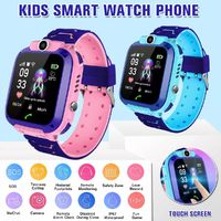 Bakeey Q12 Waterproof Kids Smart Watch Phone Front-facing Camera SOS Call Safety Zone Alarm