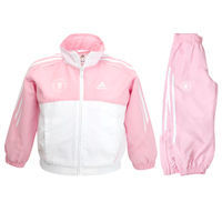 Adidas Chelsea 3 Stripe Training Tracksuit - Pink/White Chelsea 3 Stripe Training Tracksuit - Pink/White - Little Kids. http://www.comparestoreprices.co.uk/football-kit/adidas-chelsea-3-stripe-training-tracksuit--pink-white.asp