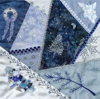 winter and quilts.