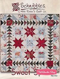 Sweet Spot Schnibbles Charm Pack Pattern Miss Rosie's Quilt Company Schnibbles Pattern - Fat Quarter Shop