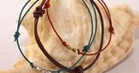 The classic leather slip-knot bracelet is an accessory that you can make in less than five minutes, yet enjoy all summer long. Once you get the hang of it, the