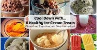 These surgar-free ice cream recipes will definitely make your taste buds do a backflip. You won't believe how healthy they are for you.