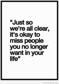 It's ok to miss people quote