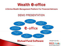 It is also easy to keep track of the market movement by advisor who using this mutual fund software by custom built report.